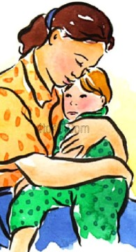 mother-with boy clipartpanda_com-001