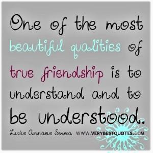 friendship understood