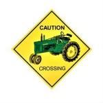 deere tractor crossing sign summitracing_com