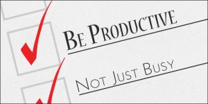 Be productive Not just busy lifepalette_com